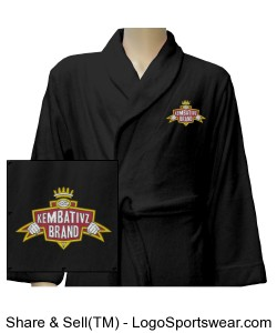 Embroidered Kembativz Robe Design Zoom