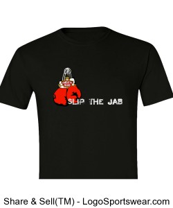 Slip the Jab, Rock the Cross T-Shirt Design Zoom