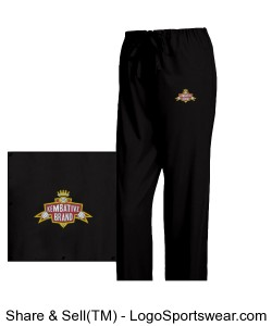 Embroidered Kembativz Dickies Scrub Pants Design Zoom