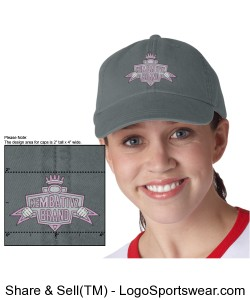 Ladies Embroidered Be Your Own Man Cap Design Zoom