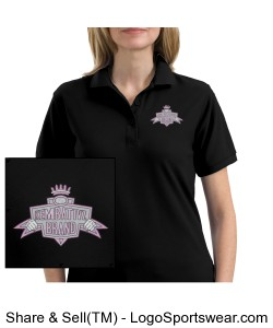 Ladies Embroidered Silk Touch Sport Shirt Design Zoom