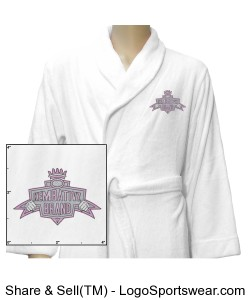 Ladies Kembativz Plush Robe Design Zoom