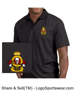 Clan Destine High Performance Polo Design Zoom